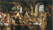 Konstantin Makovsky Boyar wedding feast oil painting picture wholesale